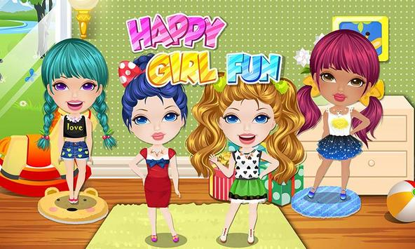 Girls Party Salon BFF Makeover poster