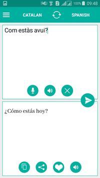 Catalan Spanish Translator screenshot 1
