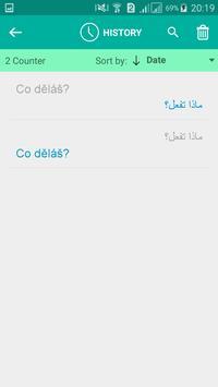 Czech Arabic Translator apk screenshot