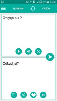 Czech Russian Translator apk screenshot