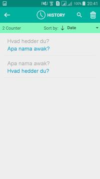 Danish Malay Translator screenshot 3