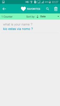 Esperanto English Translator screenshot 4