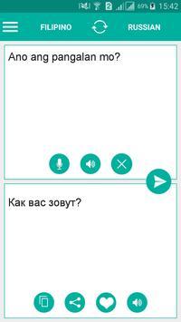 Filipino Russian Translator poster