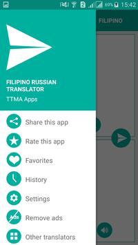 Filipino Russian Translator screenshot 2