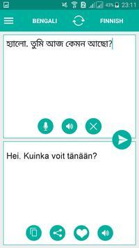 Finnish Bengali Translator poster