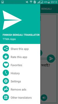 Finnish Bengali Translator screenshot 2