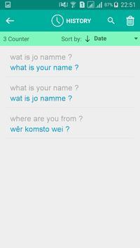 Frisian English Translator screenshot 3