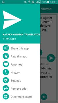 Kazakh German Translator apk screenshot