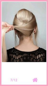 Beautiful hairstyle step by step 2018 screenshot 5