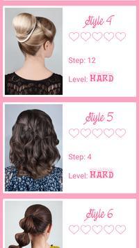 Beautiful hairstyle step by step 2018 screenshot 2