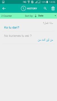 Latvian Arabic Translator apk screenshot