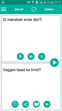 Somali Malay Translator screenshot 1