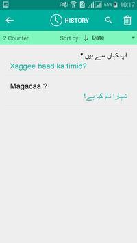Somali Urdu Translator apk screenshot