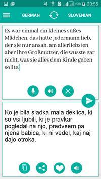 Slovenian German Translator poster