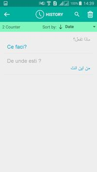 Romanian Arabic Translator apk screenshot