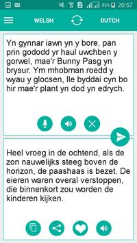 Welsh Dutch Translator screenshot 1