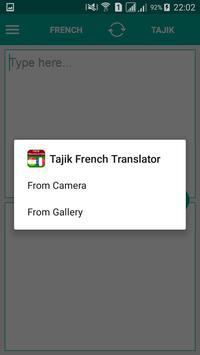 Tajik French Translator screenshot 3