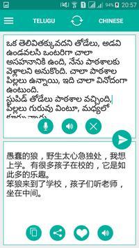 Telugu Chinese Translator screenshot 1