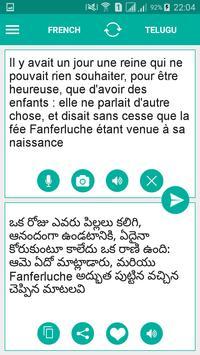 Telugu French Translator poster