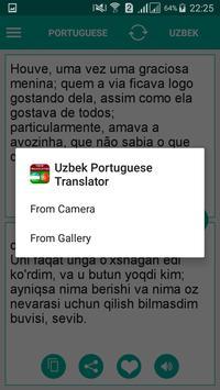 Uzbek Portuguese Translator poster