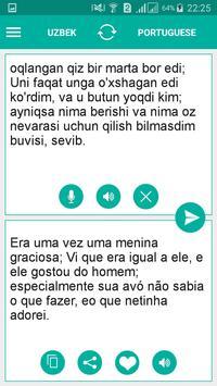 Uzbek Portuguese Translator apk screenshot