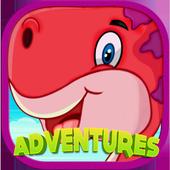 Super Happy Dinosaur icon