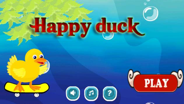Happy Duck New Year 2016 poster