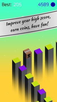 🌈 CoLoRs: free jumping tap game apk screenshot