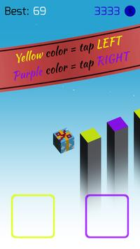 🌈 CoLoRs: free jumping tap game poster