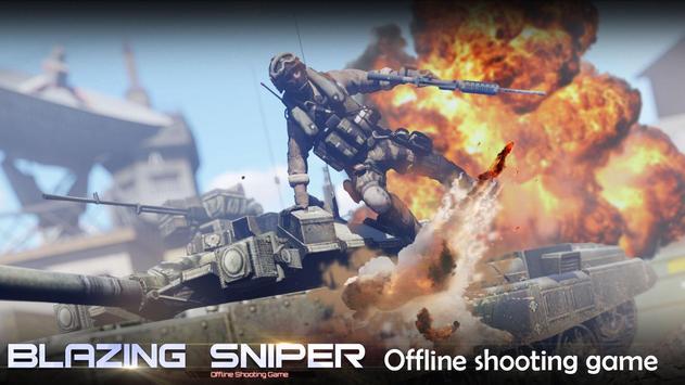 Blazing Sniper captura de pantalla 4