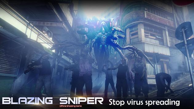 Blazing Sniper captura de pantalla 2