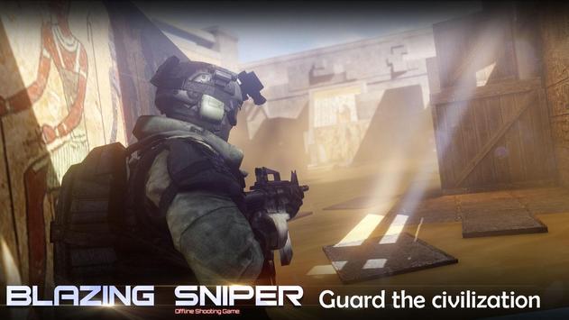 Blazing Sniper captura de pantalla 3