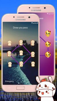 Pattern Lock Screen screenshot 1