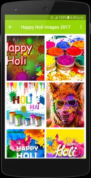 Happy Holi Images 2017 poster