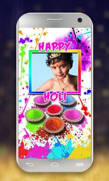Happy Holi Photo Frames screenshot 11