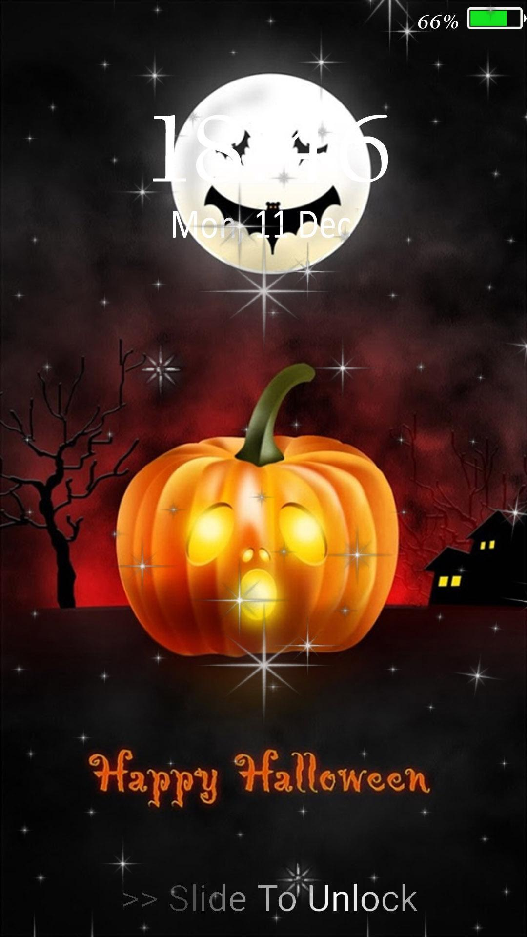 Happy Halloween Live Wallpaper Lock Screen For Android Apk Download