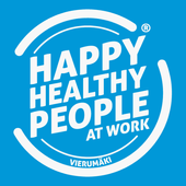 Happy Healthy People at Work icon
