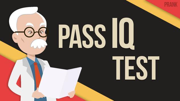 IQ test by photo prank apk screenshot