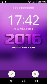New Year Yo Lock Screen apk screenshot