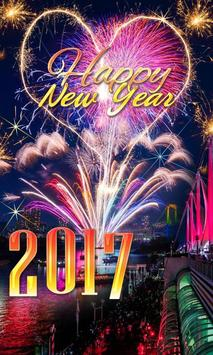 Happy New Year Live Wallpaper poster