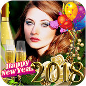 New Year Photo Frames 2018 icon