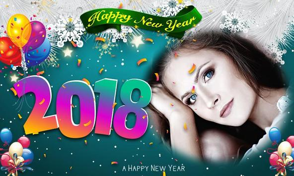 New Year Photo Frames 2018 poster
