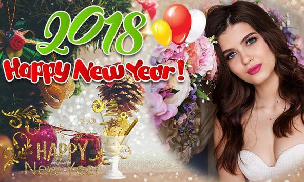 New Year Photo Frames 2018 screenshot 1