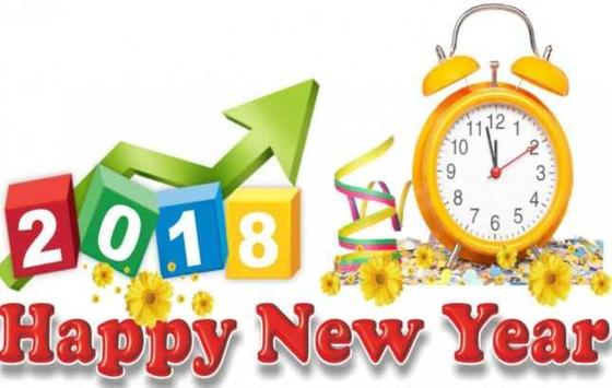 Happy New Year 2018 Wishes apk screenshot