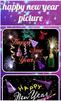 Happy New Year Picture poster