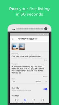 HappySale - Sell Everything apk screenshot