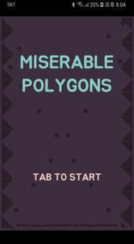 Miserable Polygons poster