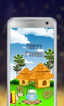 Happy Pongal Live Wallpaper poster