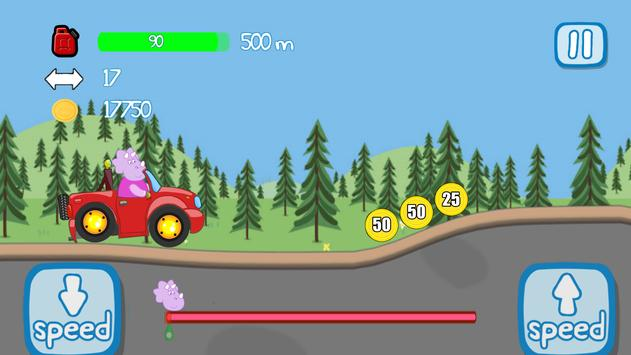 Peppa : car adventures screenshot 22