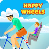 Happy Wheels game race icon